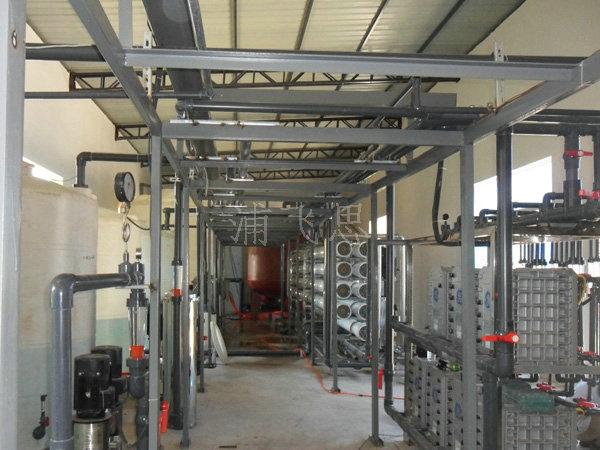 20T/H-2RE超纯水设备