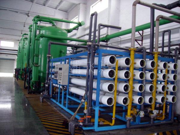 100T/H2RE高纯水系统