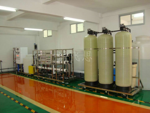 2T/H-2RO纯水设备